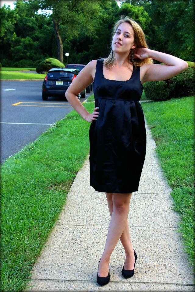 simple little black dress