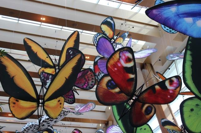 butterflies aria las vegas