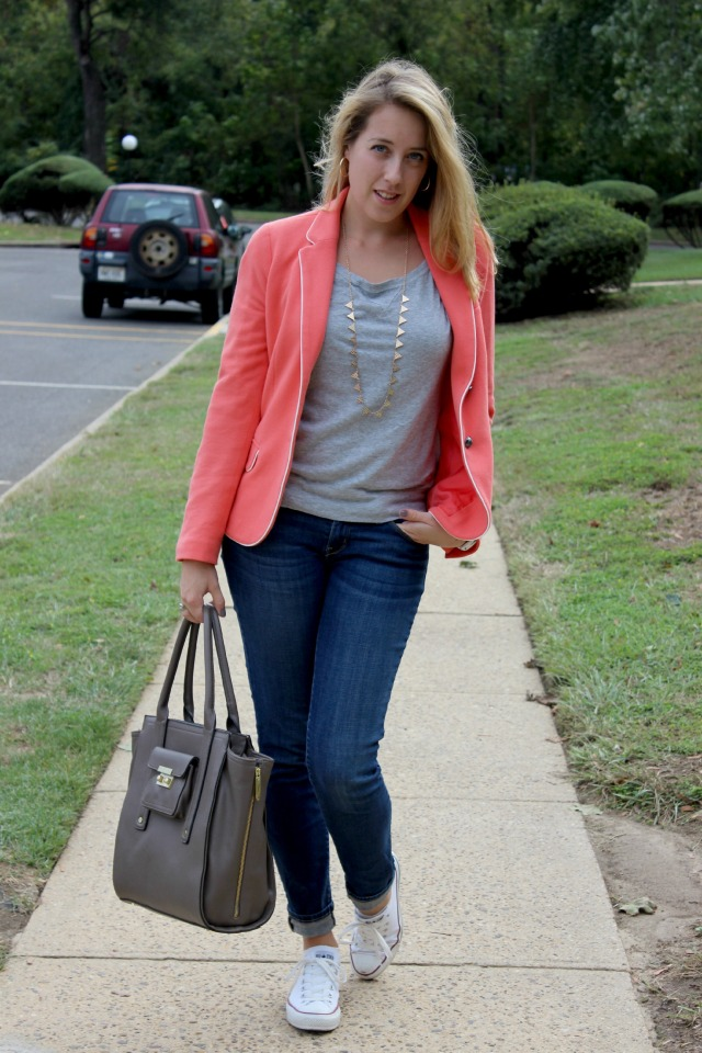 pink blazer phillip lim target