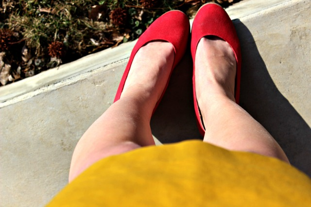 red and yellow for Spring